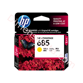 Jual Tinta / Cartidge HP Yellow Ink 685 [CZ124AA]